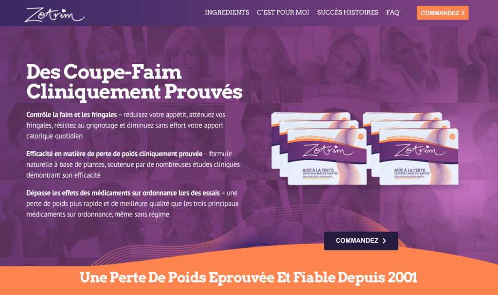 Site officiel de Zotrim France